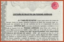 Certidão de registro